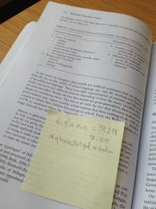 Marginalia in Garcia 2009 - Brookes Library HH